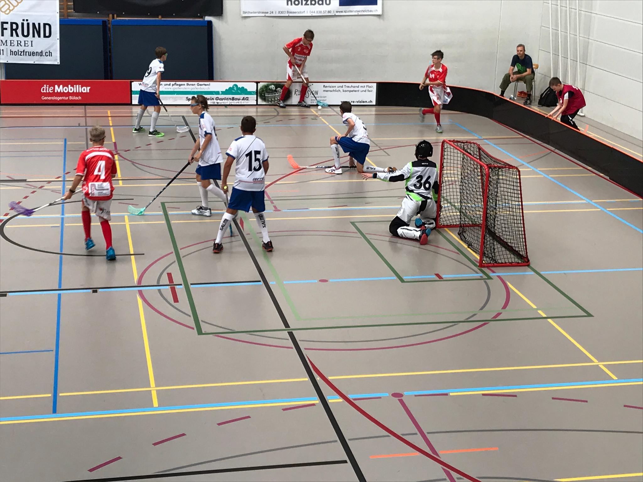 1. Spiel gegen Bassersdorf Nürensdorf
