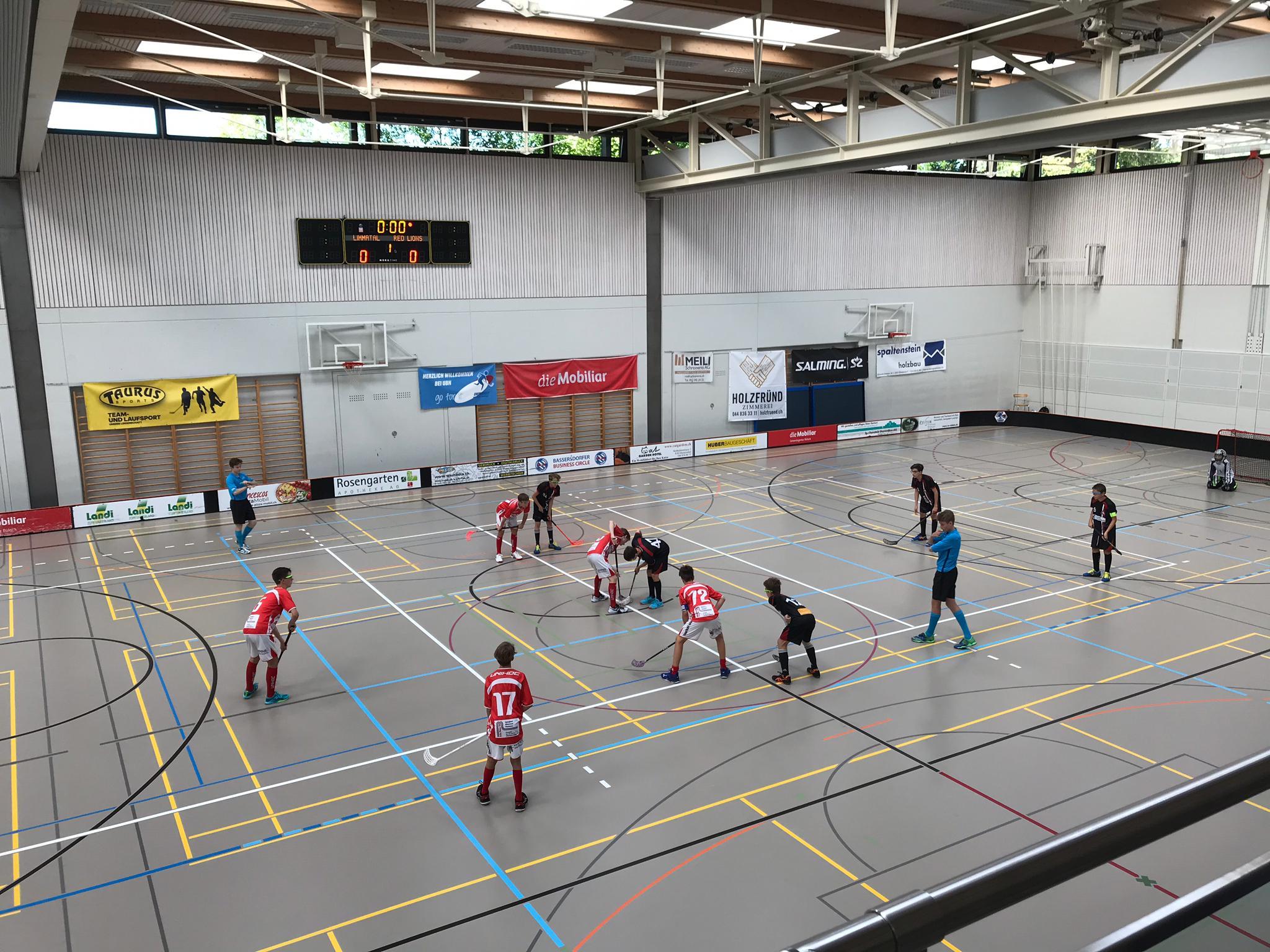 2. Spiel gegen Unihockey Limmattal