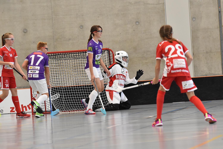 2. Spiel gegen Floorball Thurgau