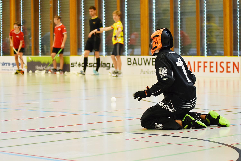 U16-Junioren im Trainingsweekend in Widnau letzten August (Archivbild)