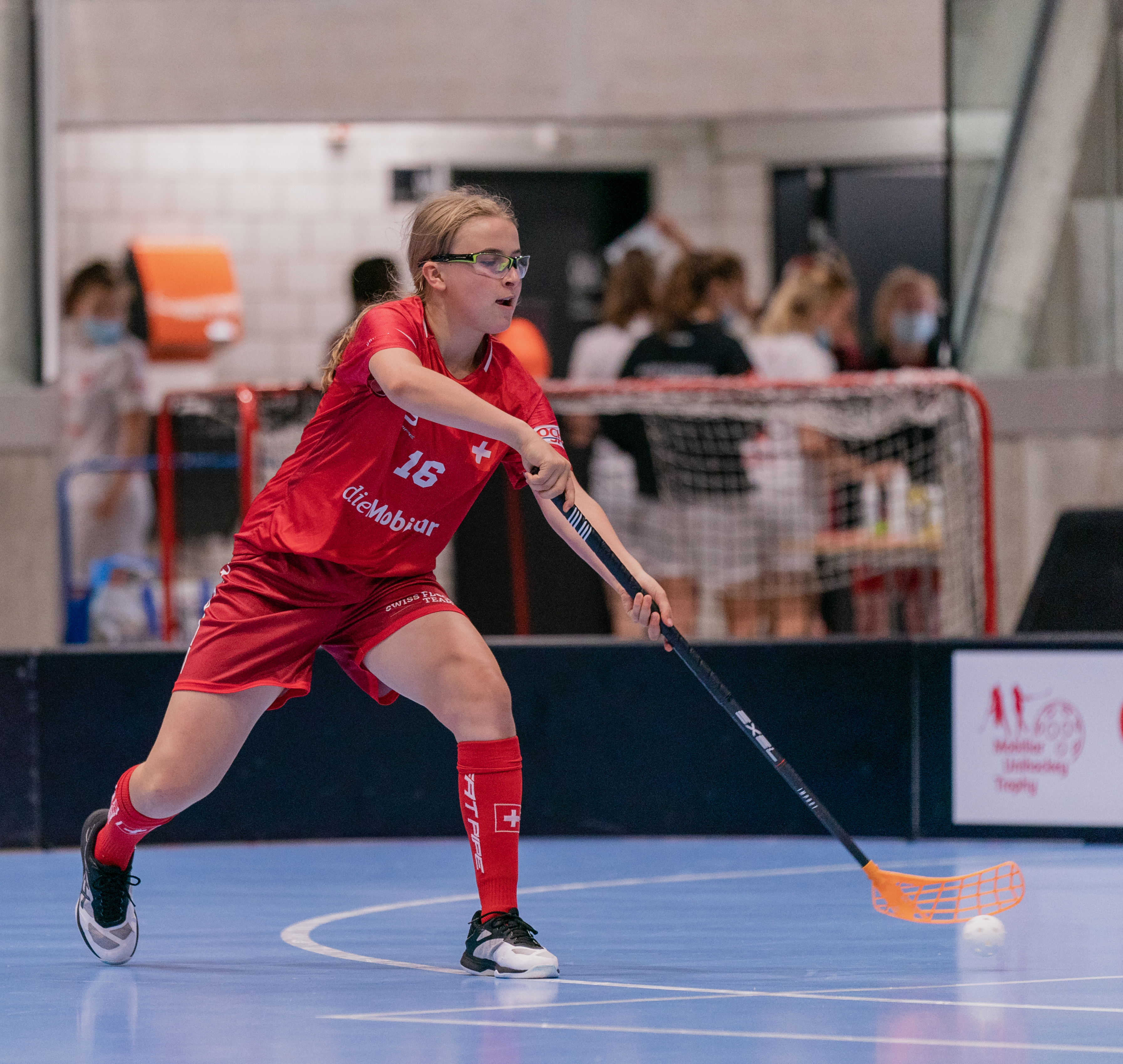 U21-Spielerin Jill Wiedmer im U17-Trainingscamp der Nationalmannschaft