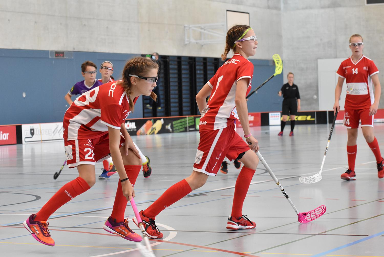 In der Saison 2021/22 spielt das U17-Juniorinnen-Team in der höchsten Spielklasse der U14/17.