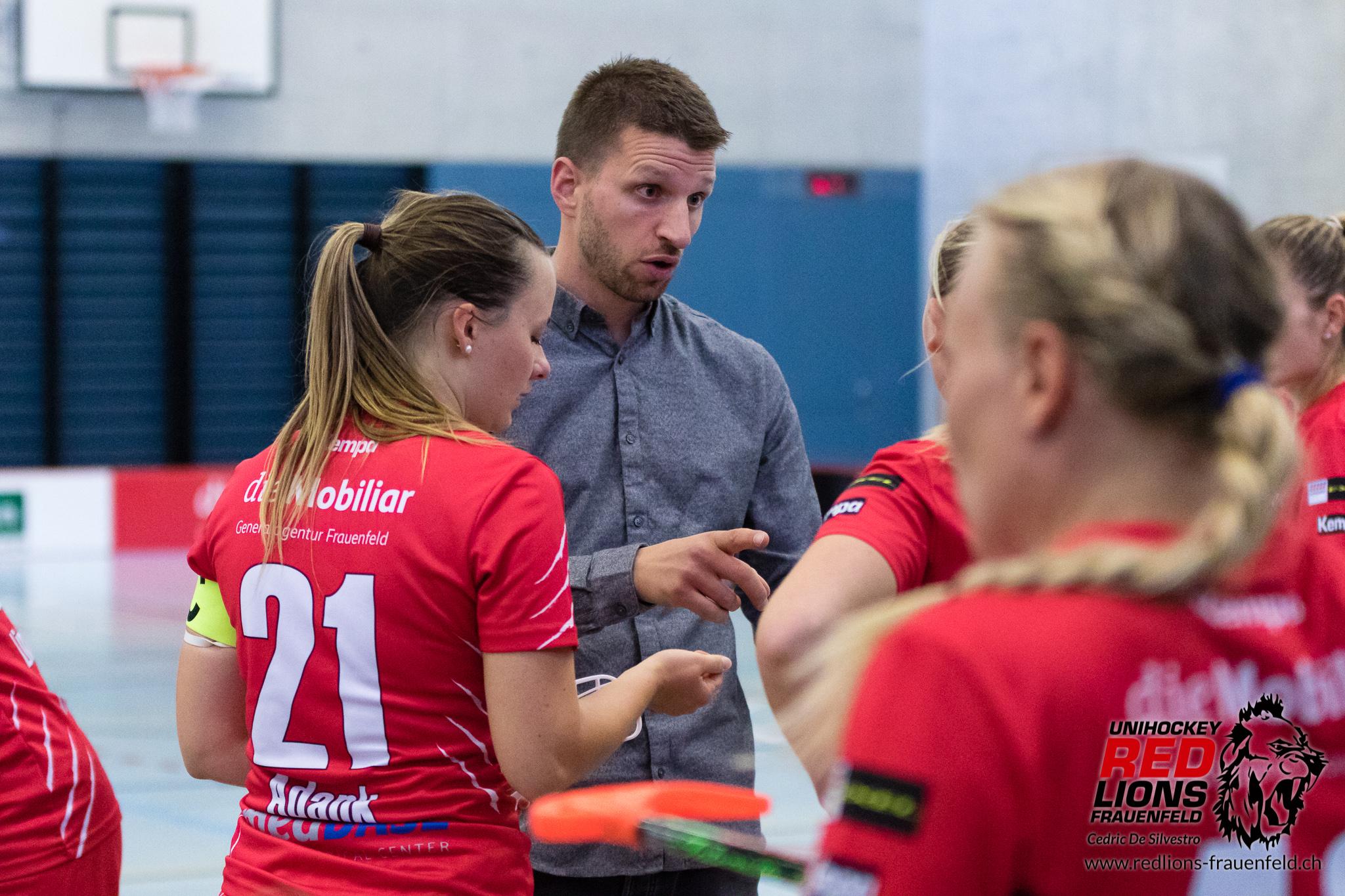 Clemens Strub ist nicht mehr Headcoach bei den Red Lions Frauenfeld. (Archivbild)