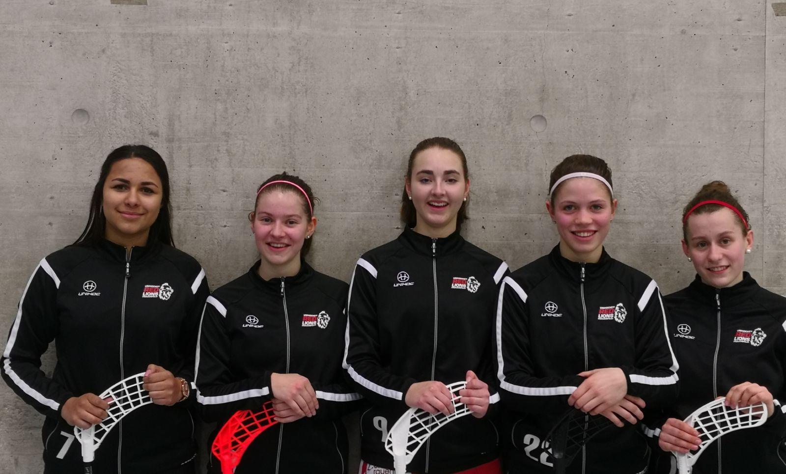 5 junge Spielerinnen schaffen den Sprung ins A-Kader