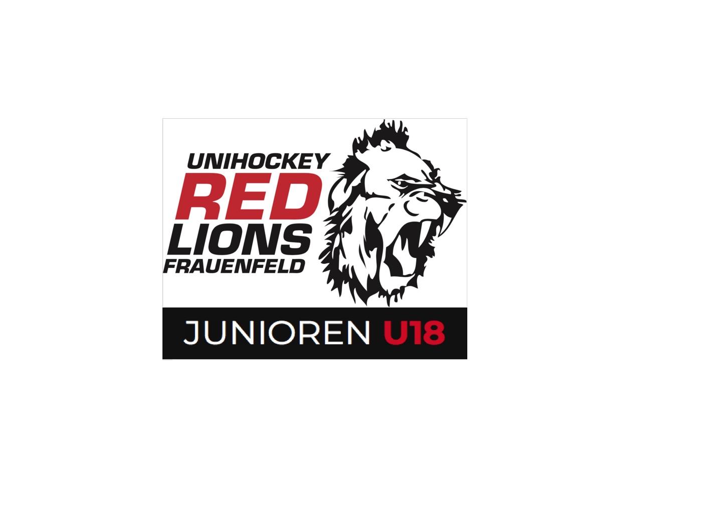 UH Red Lions Frauenfeld und Floorball Thurgau mit gemeinsamer U18 C Mannschaft