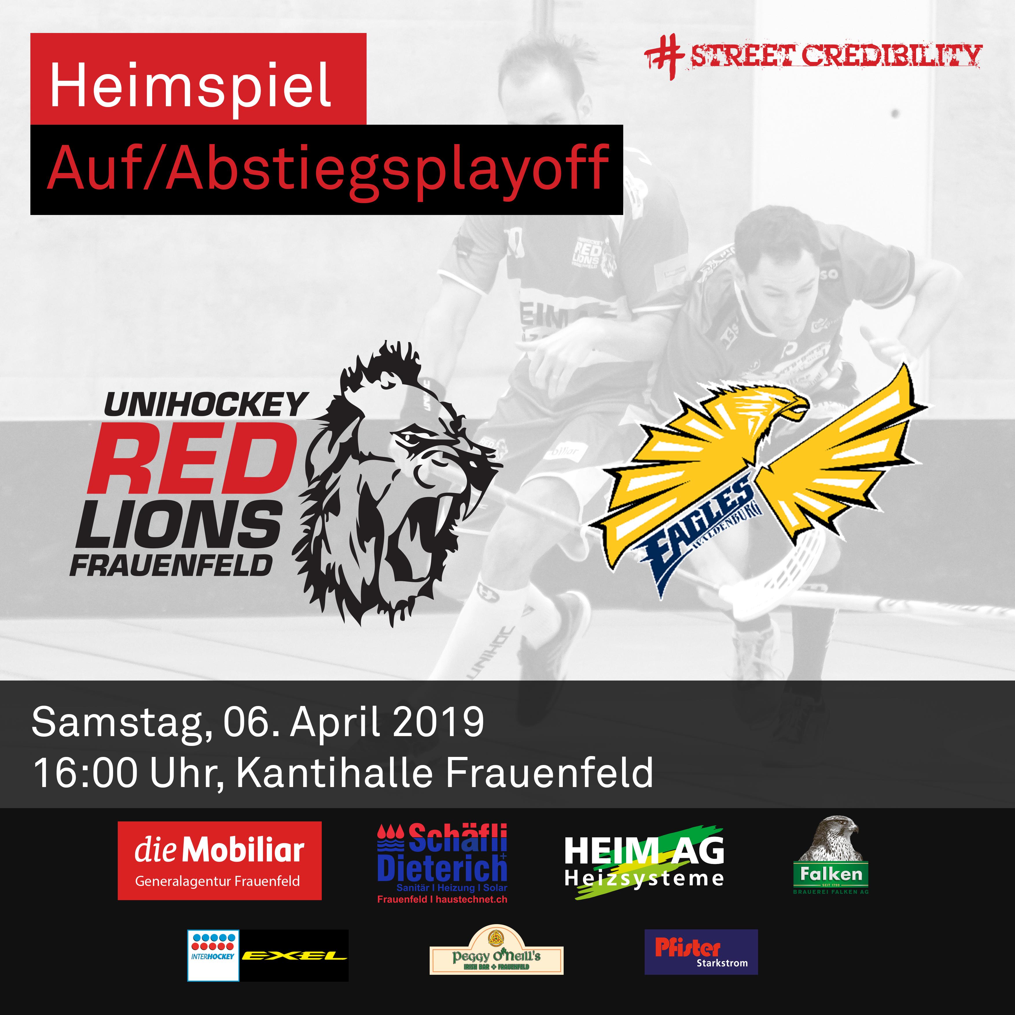 Unihockey, Pausenspiel und berliner am...