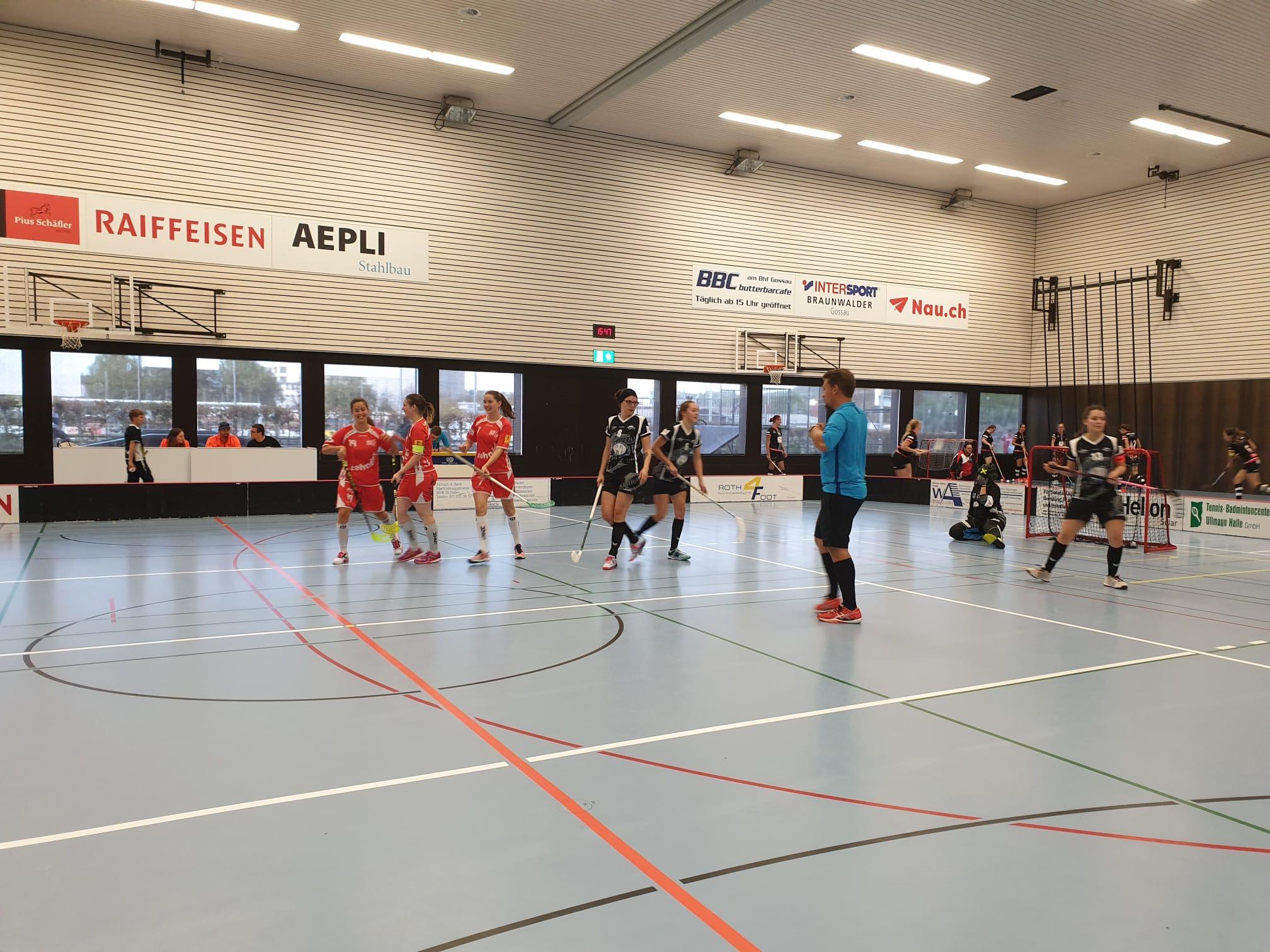 Zwei hart erkämpfte Punkte für das Damen II der Red Lions Frauenfeld