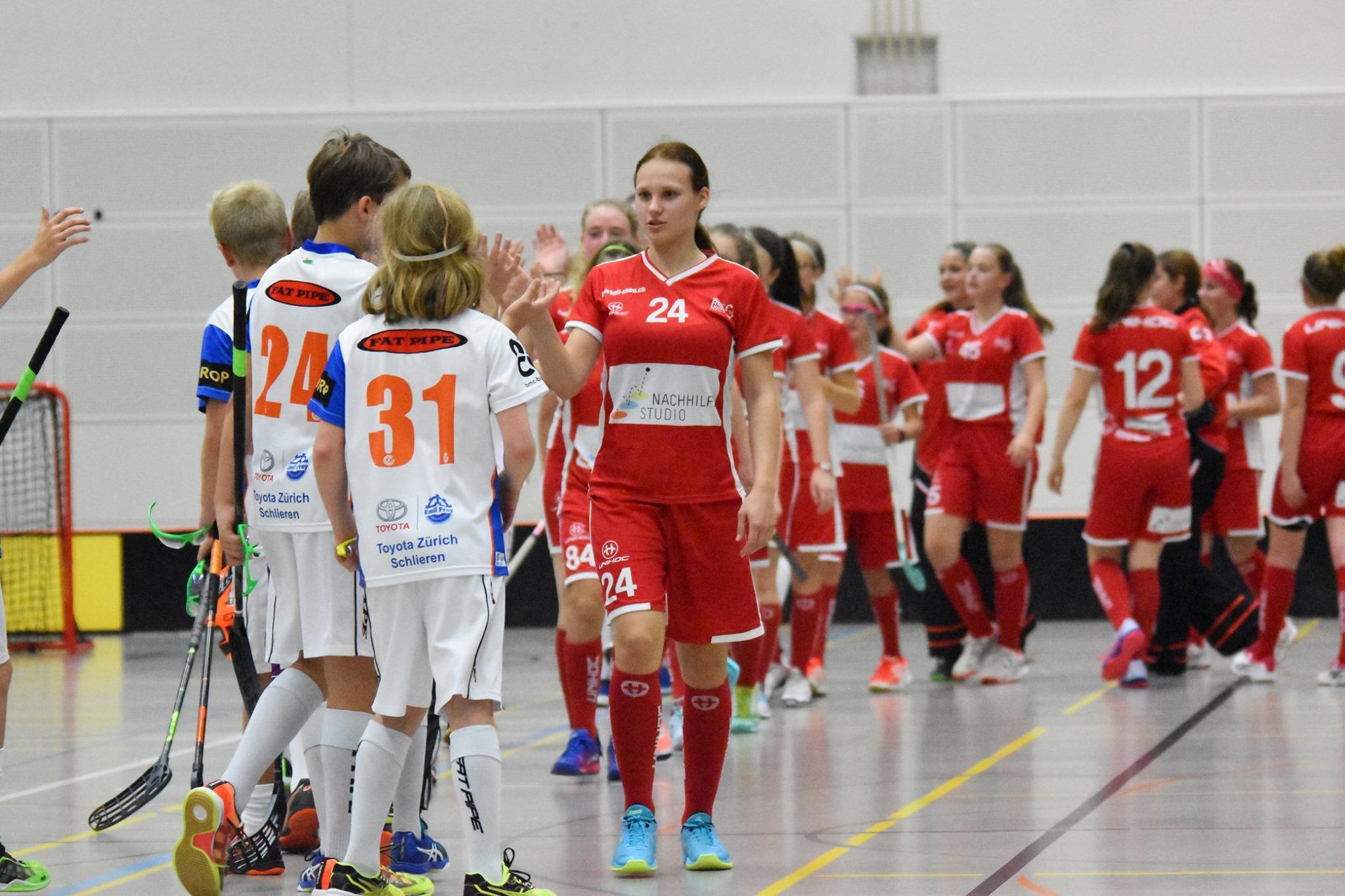 Sieg und Niederlage am zweiten Spieltag der Juniorinnen U17