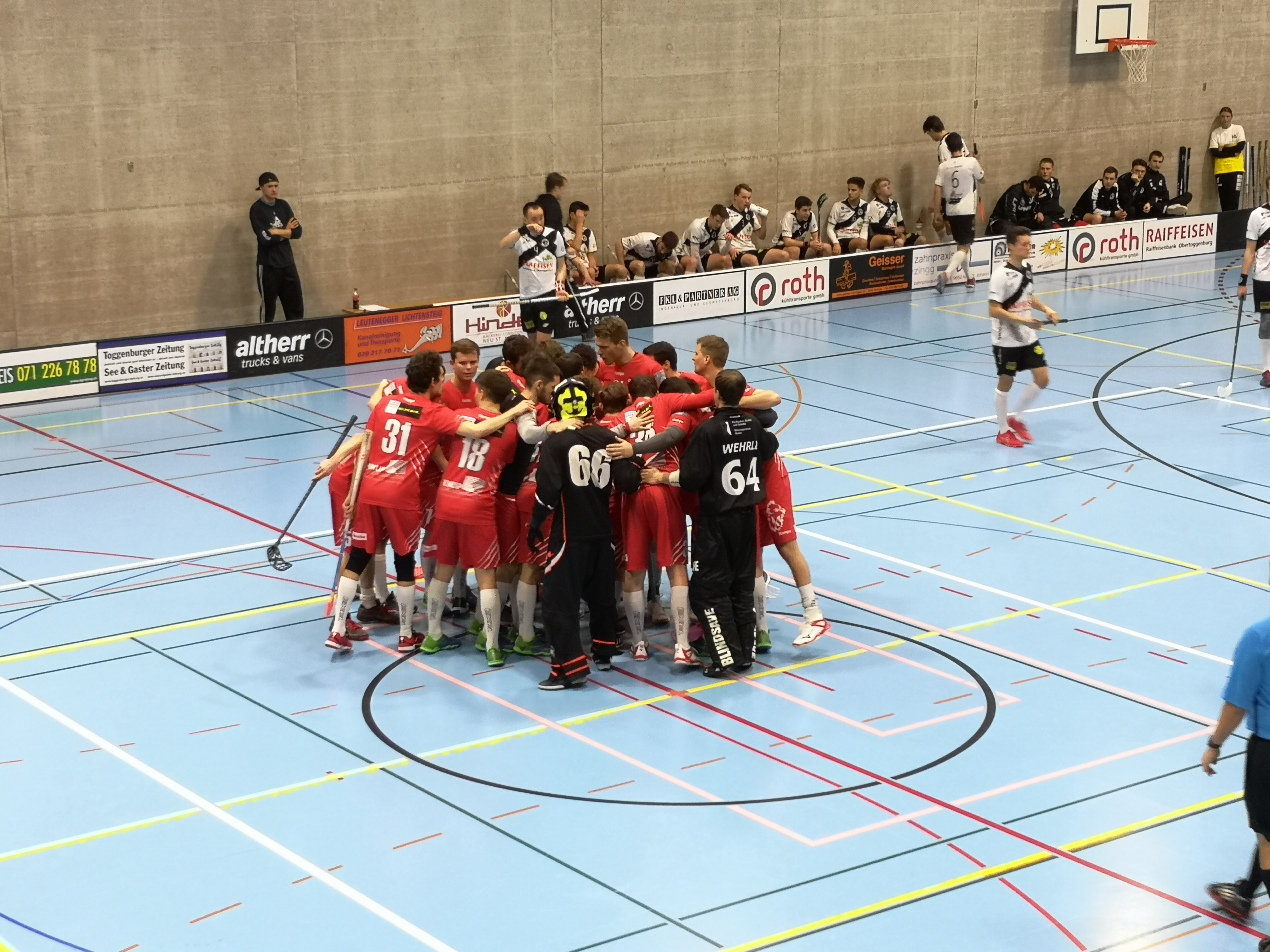 Runde 14- Nesslau Sharks – Red Lions 3:8