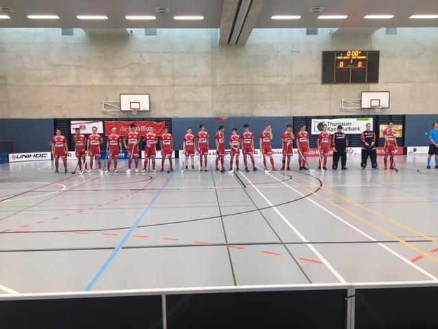 Saisonstart der Junioren U21C mit Heimspiel in der Kanti